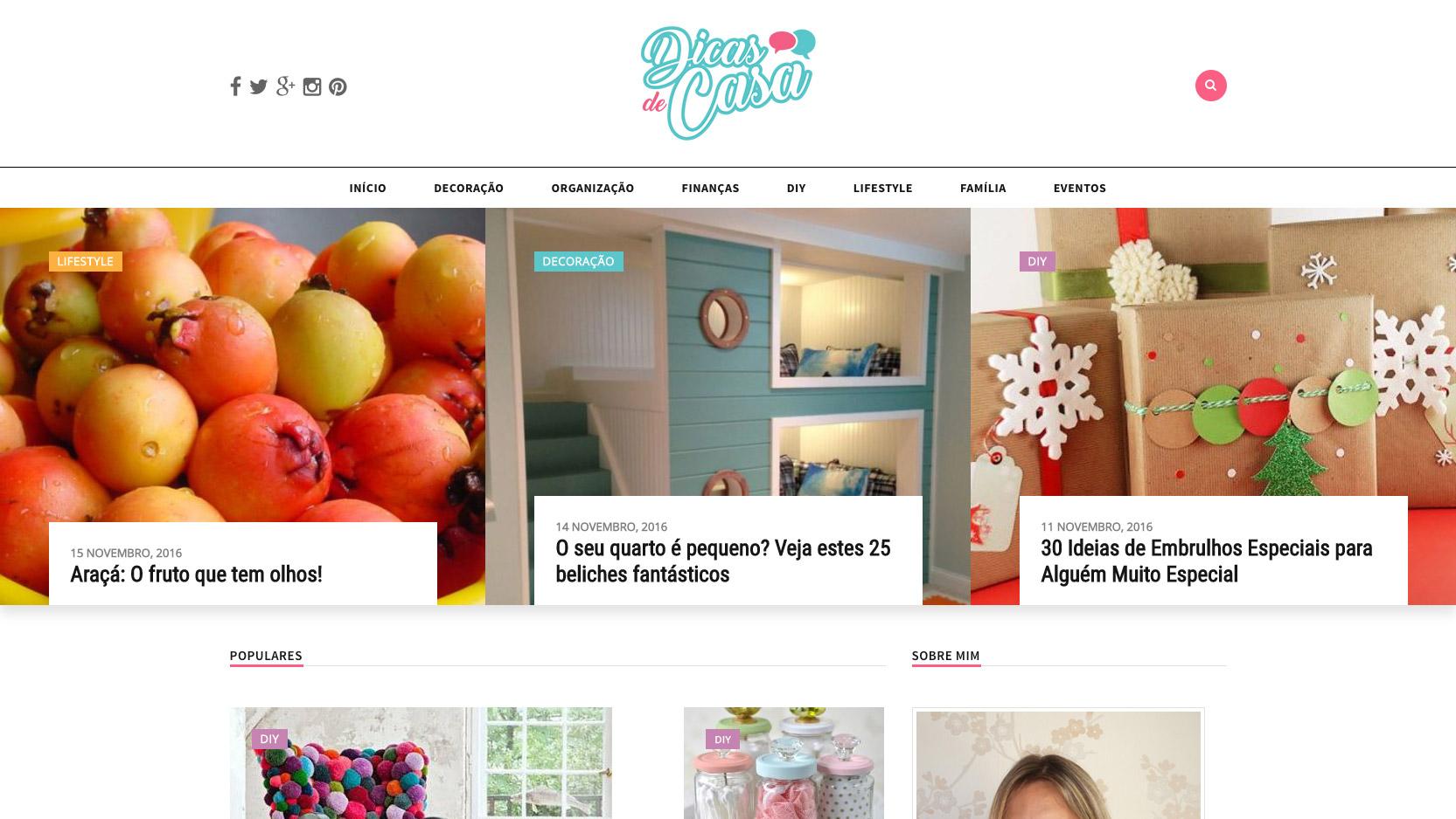 Website Dicas De Casa