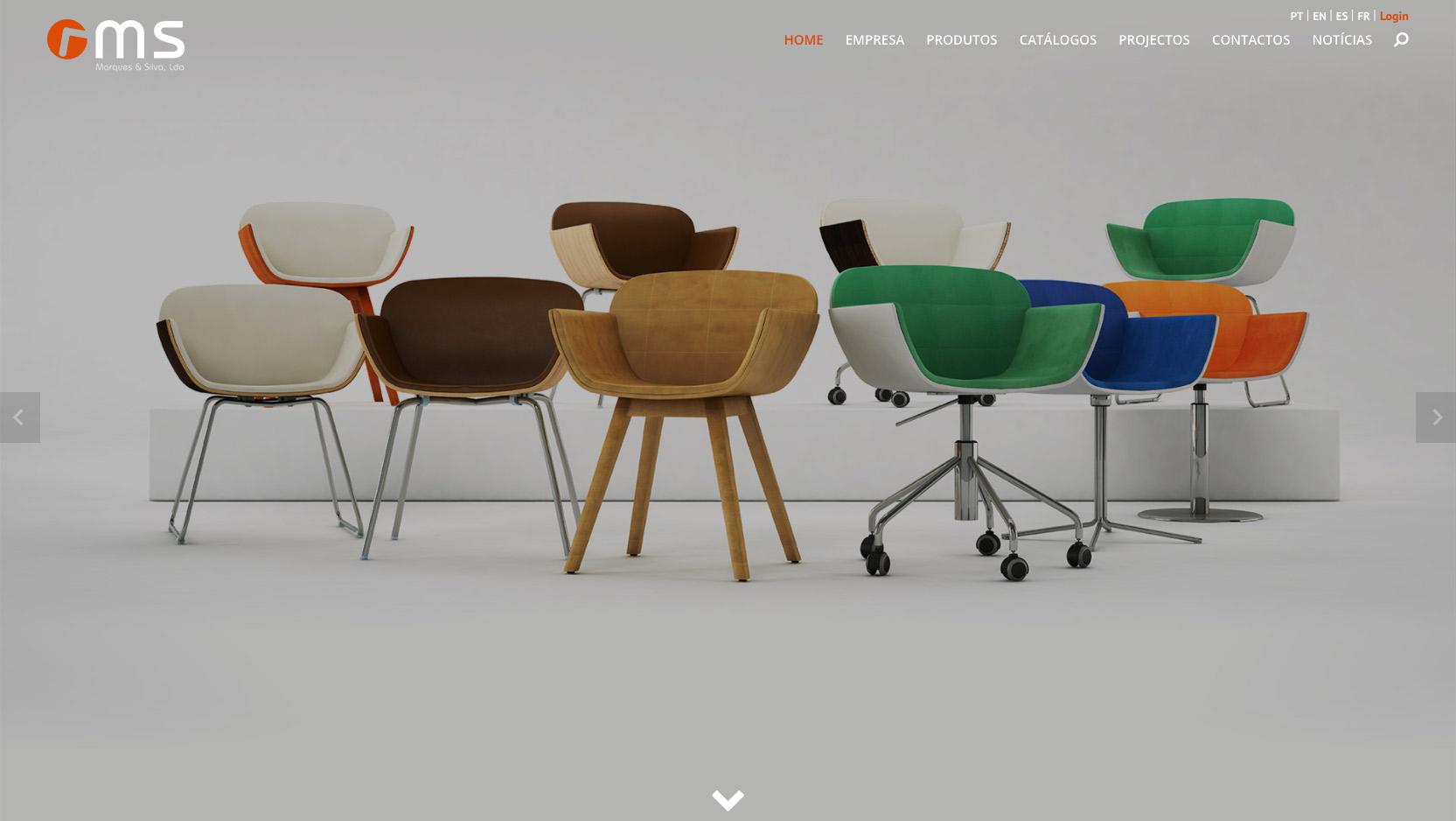 Website Marques & Silva